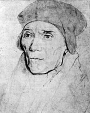 Foto do autor. Hans Holbein the Younger