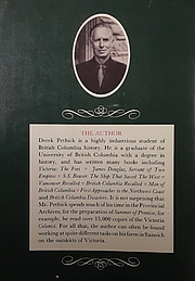 Forfatter foto. Author photo and description from back cover of Summer of Promise by Derek Pethick.