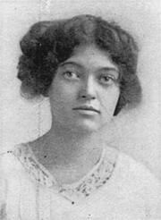 Foto auteur. Emma Gelders Sterne (1912)