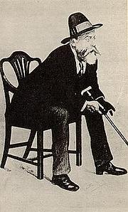 Foto de l'autor. William Ernest Henley (1849-1903) (Wikipedia)
