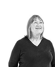 Kirjailijan kuva. Nancy Harmon Jenkins