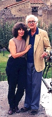 Author photo. The photo is of Joseph Jay Deiss and his daughter Susanna in Herculaneum, on their final trip together (1998). The Deiss family lived in Italy for many years, based in Positano on the Amalfi coast, not far from Pompeii and Herculaneum.