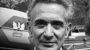 Kirjailijan kuva. René Barjavel pris en mai 1970