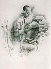 Fotografia de autor. Lithograph by Emil Orlik (1870-1932)