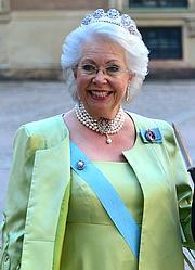 Author photo. Princess Christina of Sweden