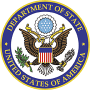 Foto auteur. United States Department of State seal