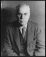 Författarporträtt. Albert Coombs Barnes (1872-1951) Photo by Carl Van Vechten, Oct. 20, 1937 (Library of Congress Prints and Photographs Division, Digital ID: van 5a51699)