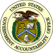 "Foto del autor. By U.S. Government - Extracted from PDF version of Volume 1 of the Exposure Draft GAO/PCIE Financial Audit Manual (direct PDF URL [1]), and colorized based on Image:US Government Accountability Office seal.gif. The eagle's head and tail feathers are now white, based on the GAO seal page (direct image of new version here)., Public Domain, <a href=""https://commons.wikimedia.org/w/index.php?curid=3764498"" rel=""nofollow"" target=""_top"">https://commons.wikimedia.org/w/index.php?curid=3764498</a>"