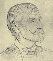 Forfatter foto. Image from <b><i>Twenty-four Portraits</i></b> (1920) by William Rothenstein
