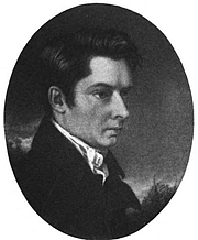 Foto do autor. engraving by John Hazlitt