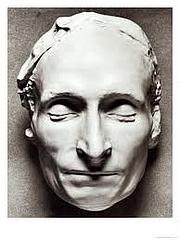 Kirjailijan kuva. Death Mask