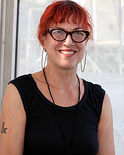 "Forfatter foto. Author Shelley Jackson at the 2018 Texas Book Festival in Austin, Texas, United States. By Larry D. Moore, CC BY-SA 4.0, <a href=""https://commons.wikimedia.org/w/index.php?curid=74426030"" rel=""nofollow"" target=""_top"">https://commons.wikimedia.org/w/index.php?curid=74426030</a>"