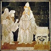 Fotografia de autor. Hermes Trismegistus in the marble pavement of the Dome of Sienna (Italy)