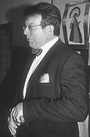 Foto do autor. Peter Oakley in around 2000.