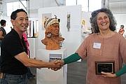 Författarporträtt. Suzanne Baizerman (on right)