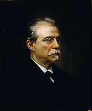 Forfatter foto. Antonio Cánovas del Castillo, por Ricardo Madrazo, 1896
