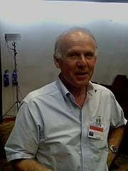 Autoren-Bild. Richard Wrangham at calpe 2012 in Gibraltar. Photo by Wikimedia Commons user Victuallers.