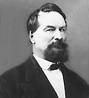 Fotografia de autor. Picture of William Adams Hickman, circa 1860