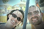 Author photo. Tsh Oxenreider (left) and husband