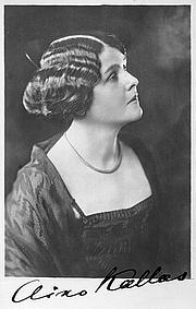 Kirjailijan kuva. Aino Kallas, 1922