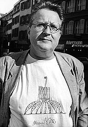 Autoren-Bild. Pierre Keller lors du 700eanniversaire de la Confédération Suisse en pays Vaudois