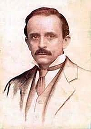 "Author photo. Via <a href=""http://en.wikipedia.org/wiki/Image:J.m.barrie.200x284.jpg"">Wikipedia</a>"