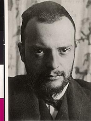 "Foto do autor. Paul Klee 1911 / Photo © <a href=""http://www.bildarchivaustria.at"">ÖNB/Wien</a>"