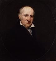 Kirjailijan kuva. Portrait by Henry William Pickersgill