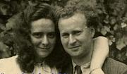 Forfatter foto. René-Guy Cadou et Hélène, sa femme