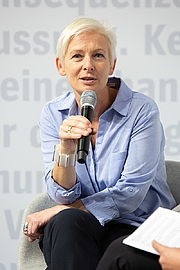 Kirjailijan kuva. Dörte Hansen at the Frankfurt Book Fair 2018 Author: Martin Kraft