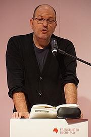 Foto de l'autor. Frankfurter Buchmesse 2014 / Photo by NearEMPTiness
