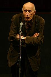 Kirjailijan kuva. Eric Rohmer à la cinémathèque française.