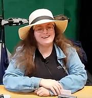Kirjailijan kuva. Ashleigh D. J. Cutler