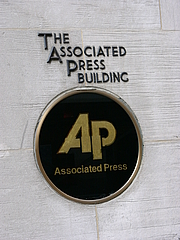 Foto de l'autor. (Old) AP Building, New York.  Photo by Alterego / Wikimedia Commons