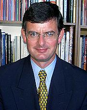 """Författarporträtt. Brian P. Kennedy. Picture from <a href=""""http://www.dartmouth.edu/~news/releases/2005/03/08.html"""" rel=""""nofollow"""" target=""""_top""""><i>Dartmouth News</i></a>."""