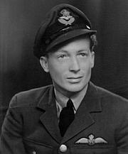 Foto de l'autor. William Ash in RAF uniform