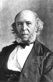 Author photo. Herbert Spencer, 1820-1903