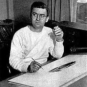 Fotografia de autor. Noel Sickles (1910-1982) Comic Books Illustrator and Commercial Artist