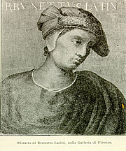 Fotografia de autor. Brunetto Latini (Wikimedia Commons)