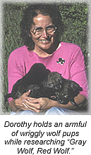 Author photo. http://www.dorothyhinshawpatent.com/images/photo_pups.jpg
