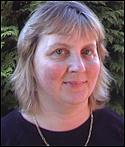 Författarporträtt. Hilary McKay / Scholastic.co.uk