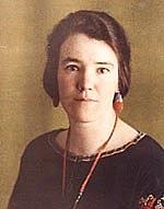 Foto do autor. Professor Eileen Power (1899-1940)