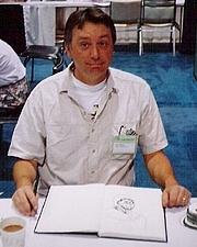 """Författarporträtt. By <a href=""""http://flickr.com/photos/roadkillbuddha/89019519/"""">Corey Bond</a>."""