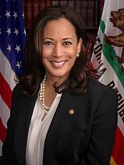 Kirjailijan kuva. Official headshot of United States Senator Kamala Harris (D-CA). 2017