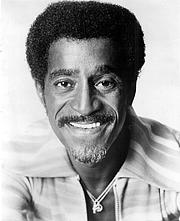 Kirjailijan kuva. Sammy Davis Jr.