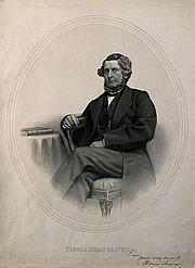 Fotografia de autor. Thomas Inman, M.D. Doctor, Author and Historian of Religions