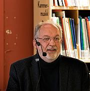 Foto do autor. Jørgen Jæger (2016)<br>Photo: Bergen Offentlige Bibliotek