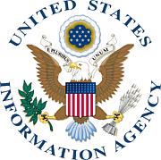 "Foto del autor. By U.S. Government - Extracted from PDF version of the 1997 NCS Annual Report (direct URL [1]), and colorized based on Image:USIASeal.jpeg. The eagle was replaced with the one from Image:US-DeptOfState-Seal.svg, since it is colorized but otherwise identical., Public Domain, <a href=""https://commons.wikimedia.org/w/index.php?curid=4011391"" rel=""nofollow"" target=""_top"">https://commons.wikimedia.org/w/index.php?curid=4011391</a>"