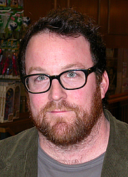 Kirjailijan kuva. John Burlinson, Feb. 22, 2008