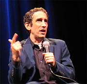 Author photo. KLRU's Engaging Speaker Series, April 2007, photo by Bruce Turner